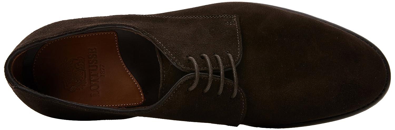 Lottusse A2919, Zapatos de Cordones Derby para Hombre, Marrón (Velvina Moka), 45.5 EU: Amazon.es: Zapatos y complementos