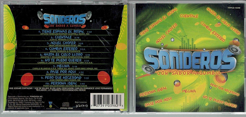 Sonideros con Sabor a Cumbia - Sonideros con Sabor a Cumbia - Amazon.com Music