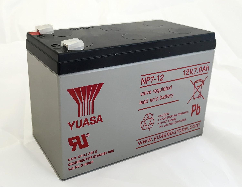 NP7-12 12v 7Ah 20HR Yuasa Lead Acid Rechargeable Battery NP6-12 by Yuasa