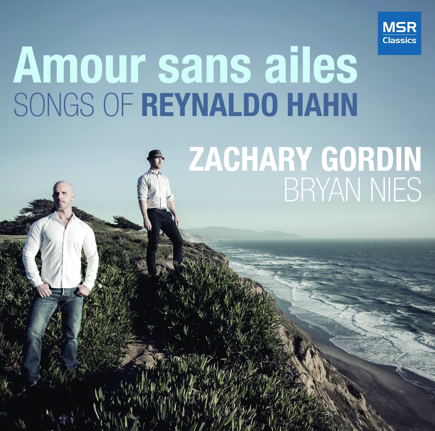 CD : ZACHARY GORDIN (BARITONE) - BRYAN NIES (PIANO) - Amour Sans Ailes (CD)