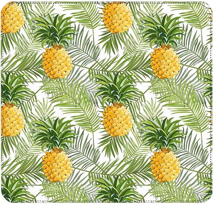 InterestPrint Womens Tropical Palm Leaves Ethnic Geometric Clutch Purse Card Holder Organizer Ladies Purse
