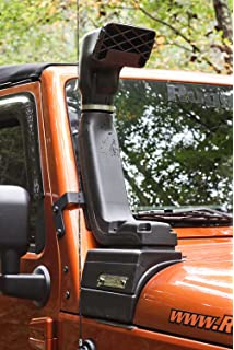 Rugged Ridge 17756.21 XHD Low and High Mount Snorkel Kit for Select Jeep Wrangler JK Models