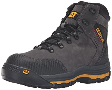"9db0205716e6c7 Caterpillar Men's Munising 6"" WP Comp Toe Industrial and Construction  Shoe, Dark Shadow,"