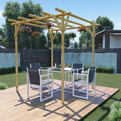 Tidyard Pérgola para Jardin Cenador para Jardin Arco de Jardin ...