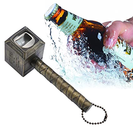 amazon com niceeshop tm beer bottle opener hammer of thor shaped