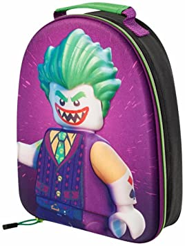 2923d3d8dd0c BATMAN  JOKER  3D LUNCH BAG BACKPACK CHILDRENS SCHOOL TRIPS 9032 ...