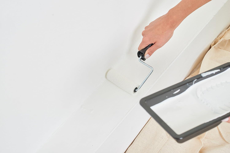 Outils de corail 43102/10,2/cm t/âche partenaire Mini kit de rouleau de peinture pour peinture /émulsion et gloss/ /Noir 4/pi/èces