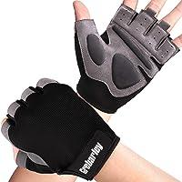 Grebarley gymhandschoenen, trainingshandschoenen met polssteun, gewichthefhandschoenen, ademende sporthandschoenen…