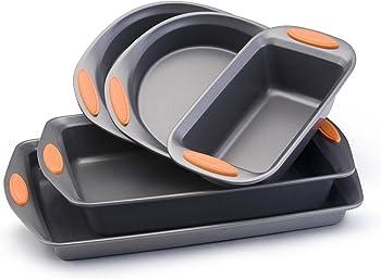 Rachael Ray Oven Lovin Non-Stick 5-Piece Bakeware Set