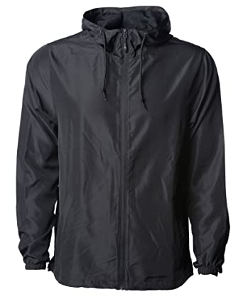 d395bfb04d8 Global Men s Hooded Lightweight Windbreaker Rain Jacket Water Resistant  Shell