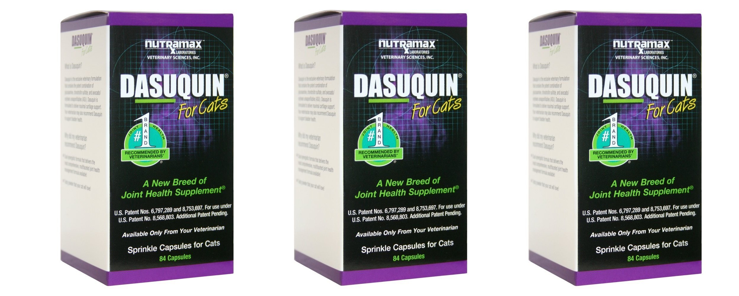 NutraMax Dasuquin For BbRwtN Cats, 84 Count (Pack of 3)