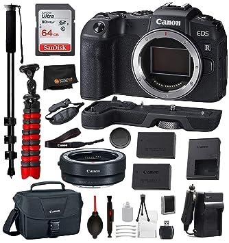 Amazon.com: Canon EOS RP Cámara digital sin espejo (sólo ...