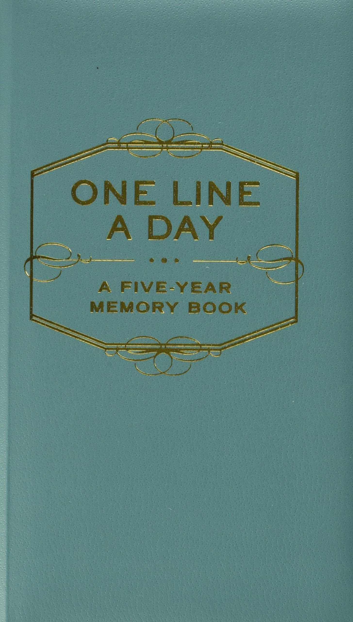 Image for One Line A Day: A Five-Year Memory Book (5 Year Journal, Daily Journal, Yearly Journal, Memory Journal)