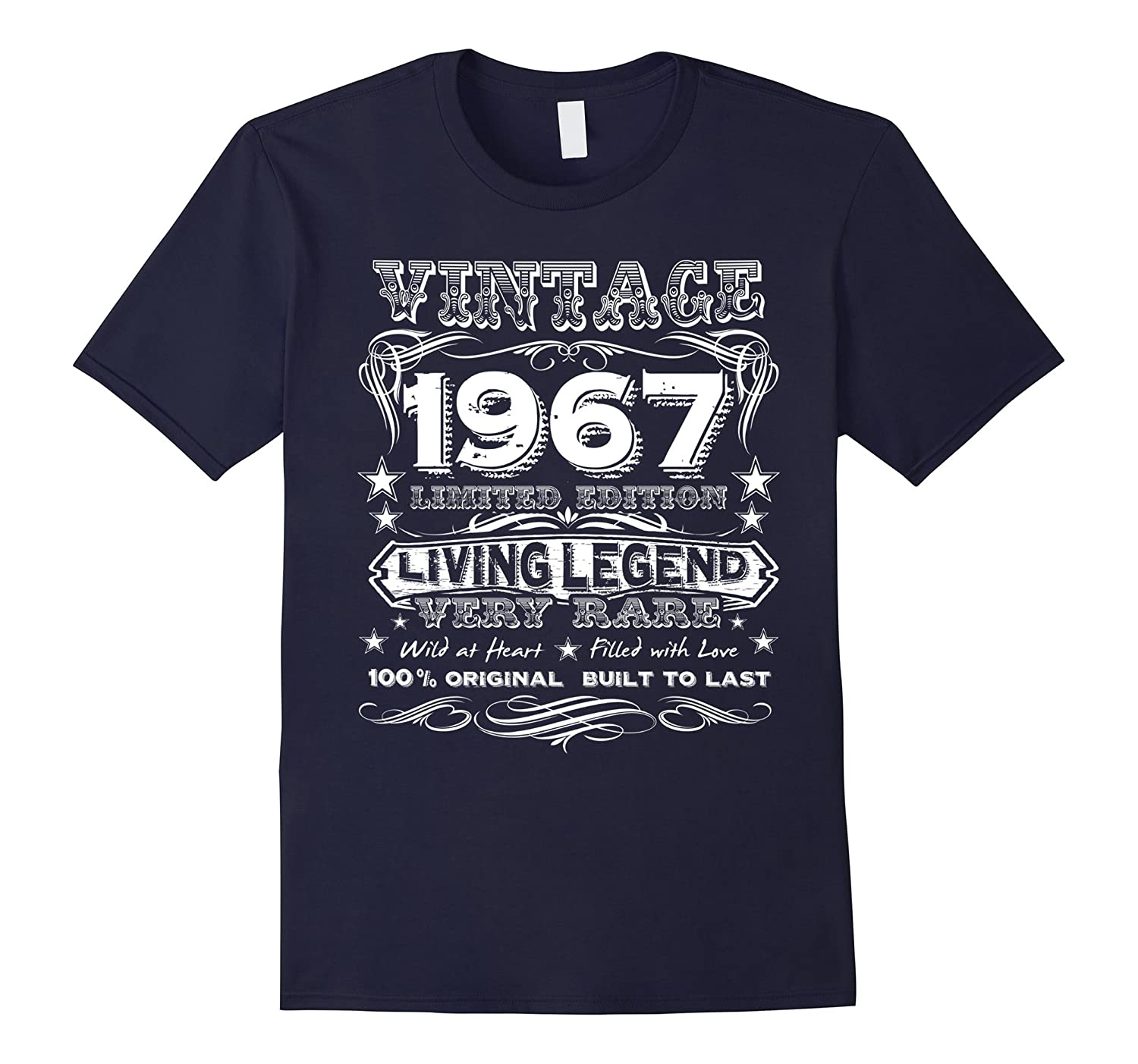 Vintage 1967 – Funny 50 Years Old 50th Birthday Gift T-Shirt
