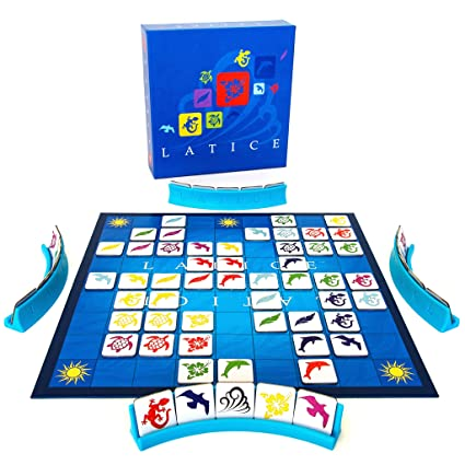 46cb7abc8eae Latice Strategy Board Game - the Popular New Family Board Game for Kids and  Adults