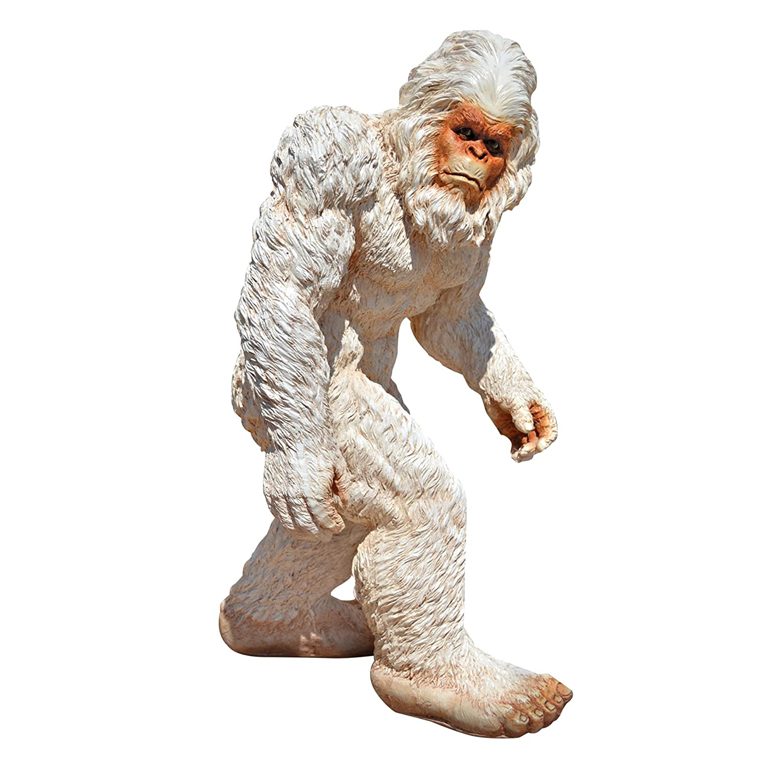 Amazon.com : Design Toscano Abominable Snowman Yeti Statue, Medium : Outdoor  Statues : Garden U0026 Outdoor