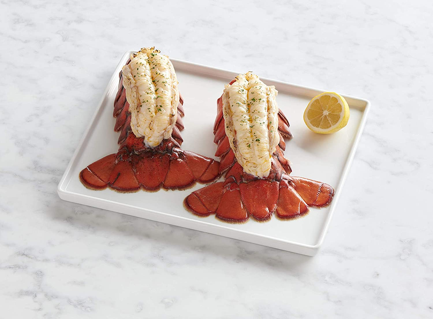 Lobster Gram |Two Fresh Maine Lobster Tails 10-12 oz.| Sustainably Sourced | Fresh and Fast Delivery | From the #1 Lobster Food Delivery Company| Great for Grilling, Baking, or Boiling