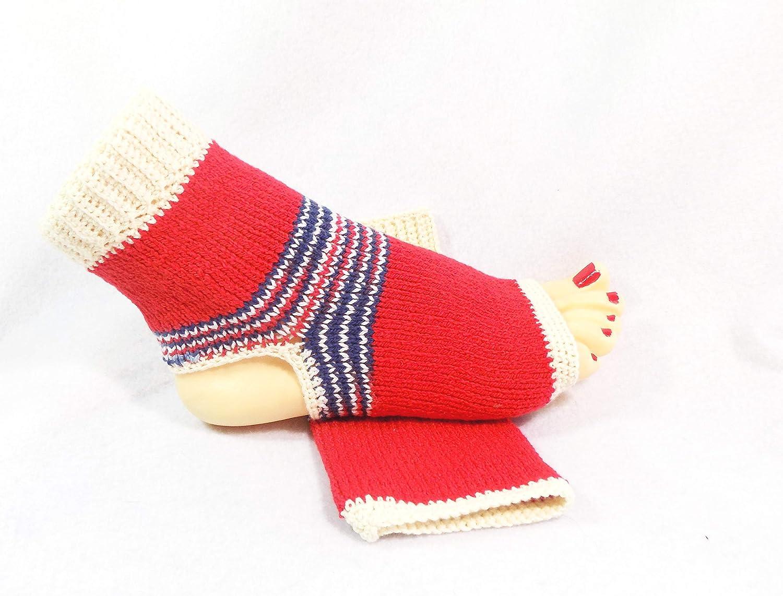 Amazon Cotton Yoga Socks Handmade Flip Flop Sock Handmade