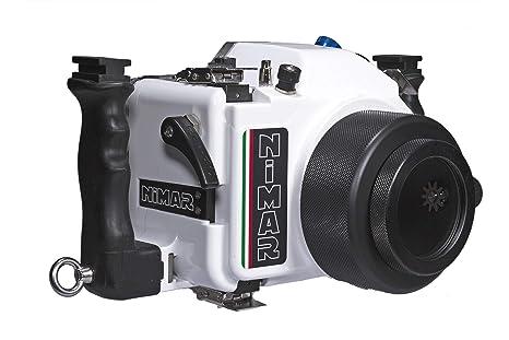 NiMAR Carcasa submarina para cámara Canon EOS 80D: Amazon.es ...