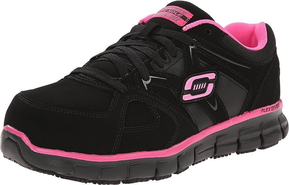 b628f827c65f Skechers for Work Women s Synergy Sandlot Slip Resistant Work Shoe