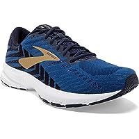 Brooks Mens Launch 6 Running Shoe (Peacoat/Gold)