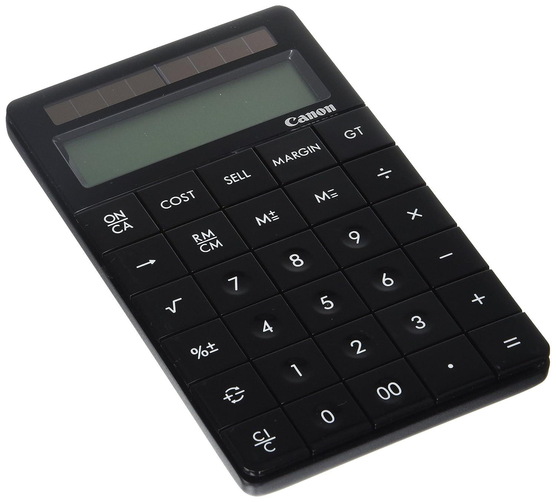 Canon X Mark I Premium Black Desktop Calculator (3982B005) Canon USA Inc.