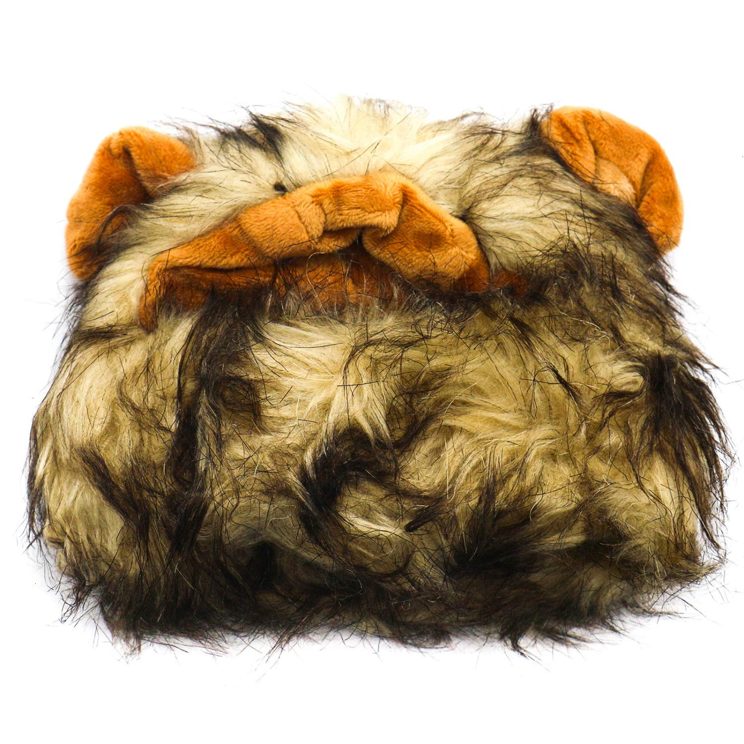 Buorsa Lion Mane Costume for Cat and Dogs Funny Pet Cat Costumes for Halloween Christmas