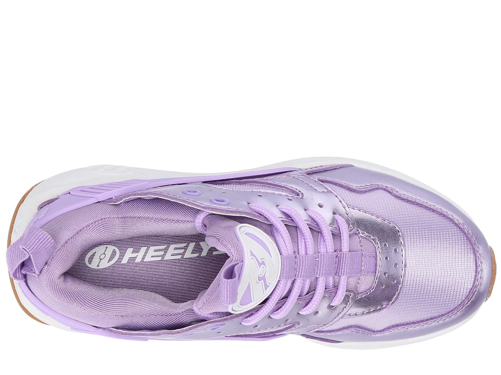 Heelys Girl's Force (Little Kid/Big Kid/Adult) Lilac/Metallic 8 M US M by Heelys (Image #9)