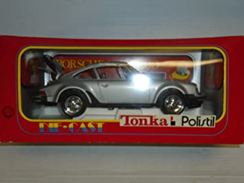 Tonka Polistil 1:16 scale Porsche 911 Turbo die cast model