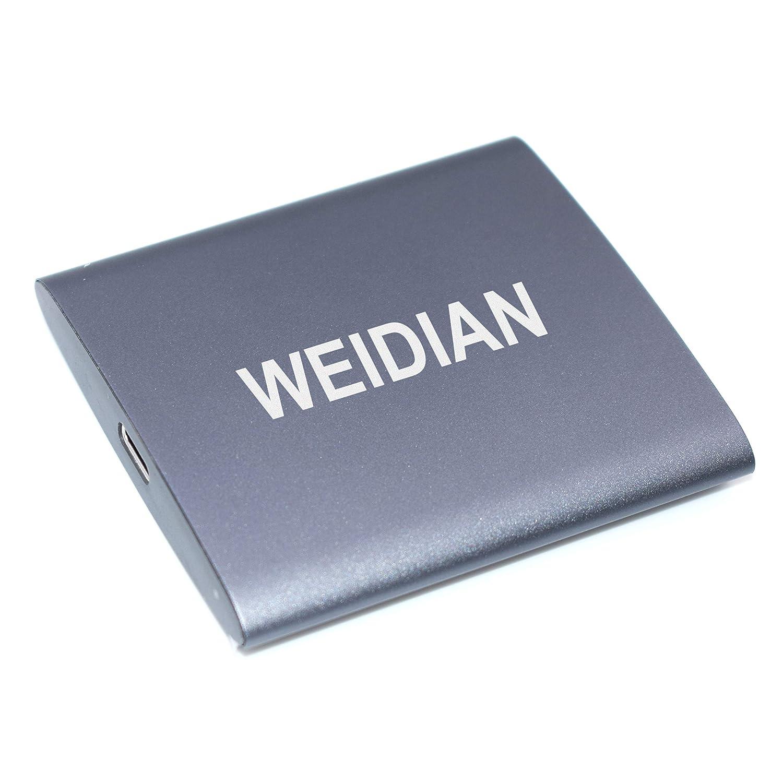 WEIDIAN SSD 1TB SSD Externo portátil USB 3.1 Lectura de Alta ...