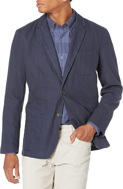 Marca Amazon - Goodthreads: americana de lino para hombre