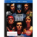 Justice League Limited Edition (Blu-Ray + DVD + Digital) with Exclusive 64-Page Book Packaging