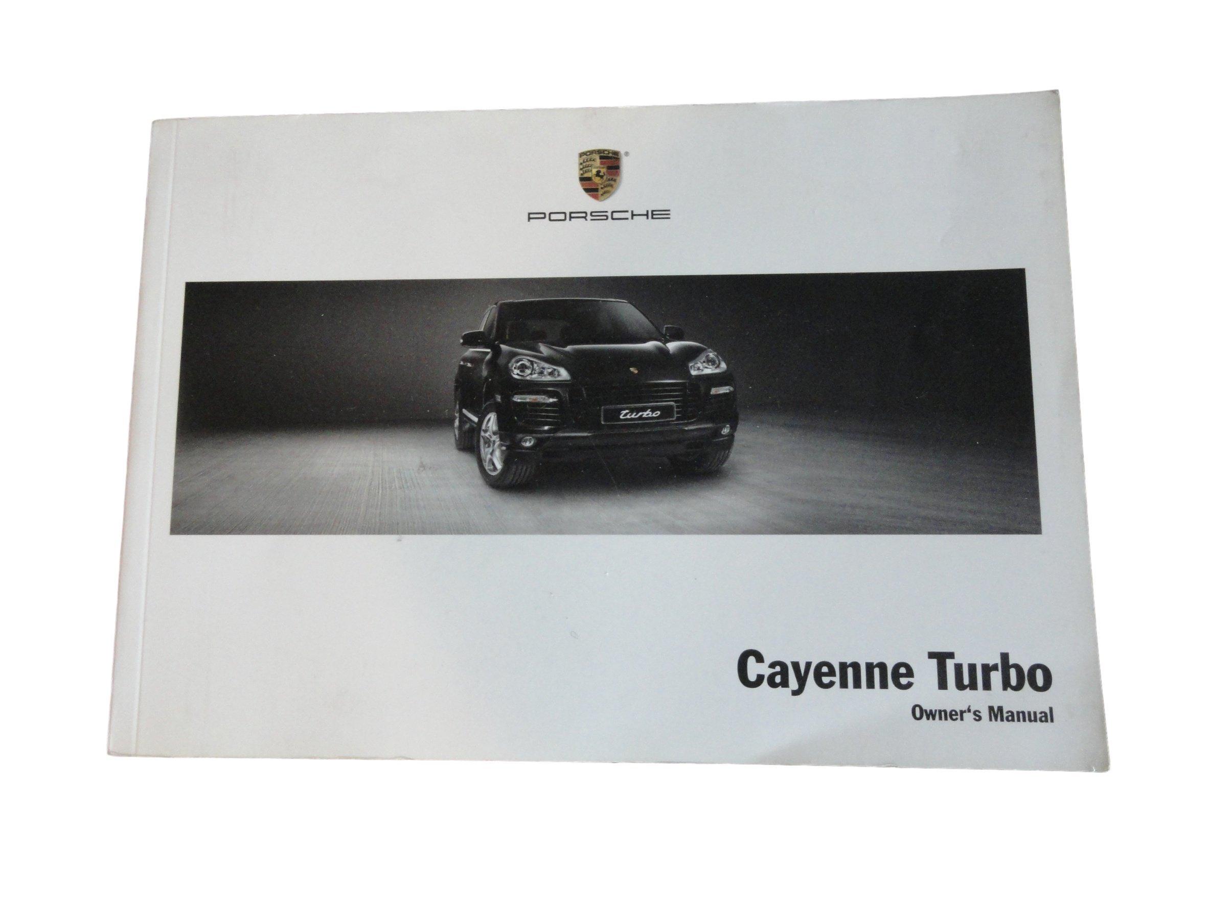 2008 porsche cayenne turbo owners manual porsche amazon com books rh amazon com 2008 Porsche Cayenne Turbo S 2004 Porsche Cayenne S Interior