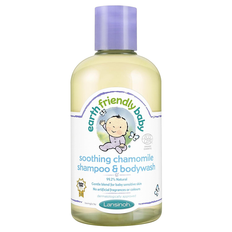 Earth Friendly Baby Children Shampoo & Bodywash Soothing Chamomile Kids 300 ml Ecocert 82106