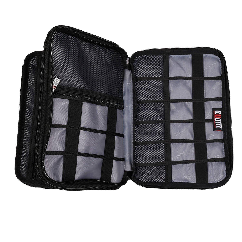amazon com bubm double layer electronic accessories organizer