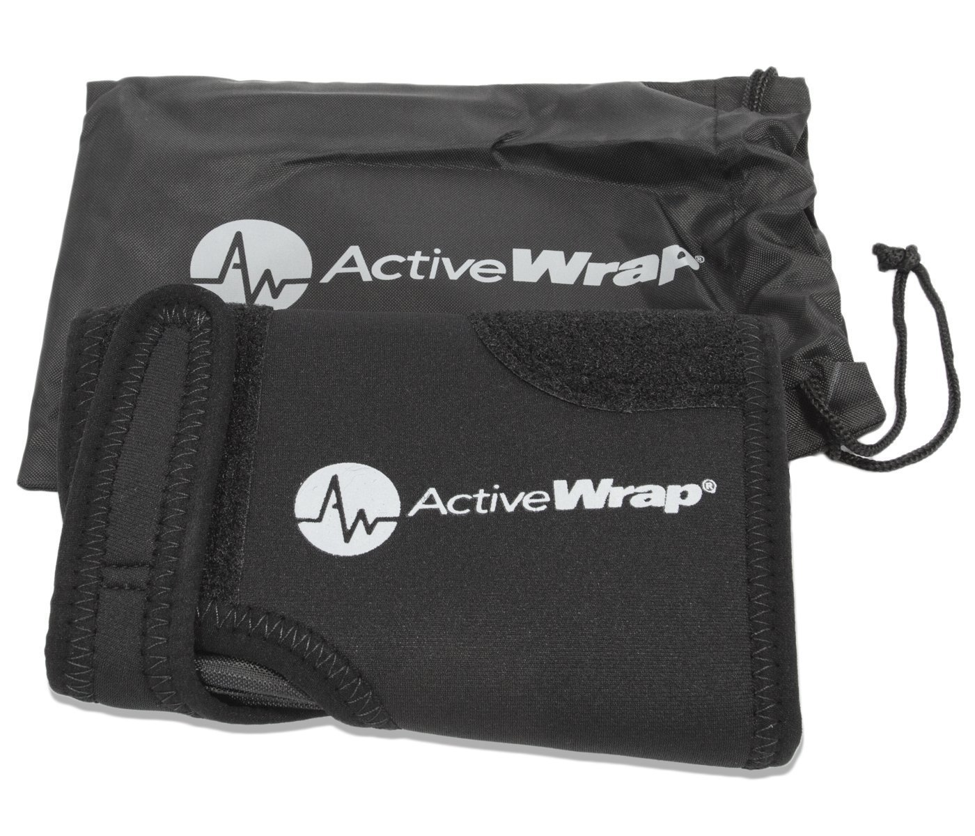 AW ACTIVEWRAP Hand and Wrist Ice/Heat Wrap - Perfect for Sprained Wrist, Arthritis Treatment for Hands, and Wrist Pain Therapy - Hot/Cold Gel Packs Included