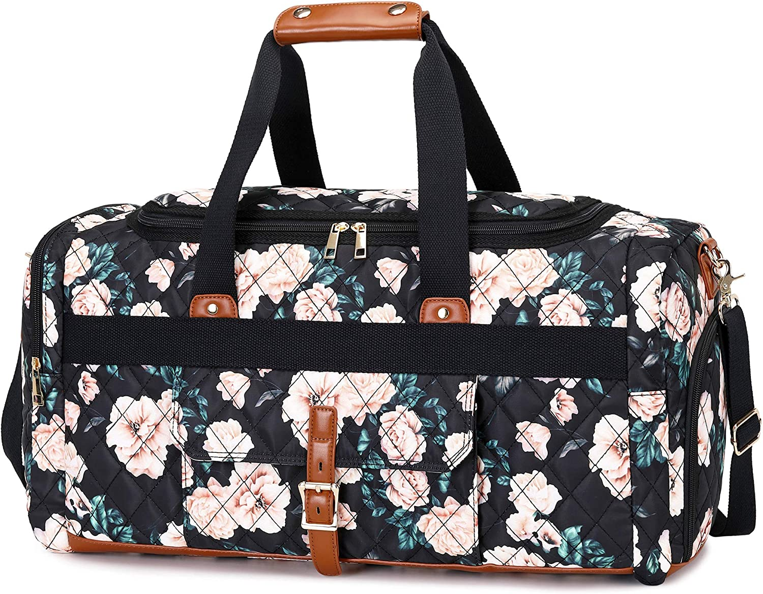 BLUBOON Today's only Weekender Overnight Duffel Bag with Compartment fo OFFicial Shoes