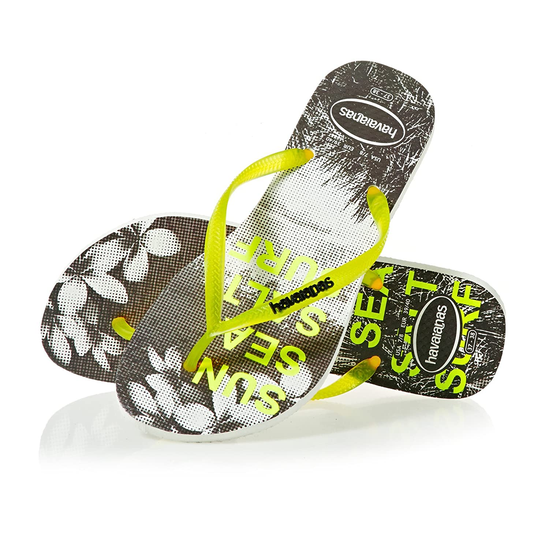 961f363223e23 Havaianas Flip Flops Women Slim Paisage  Amazon.co.uk  Shoes   Bags