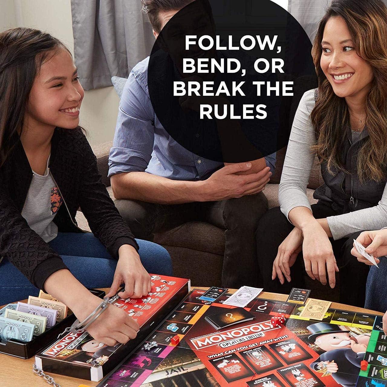 Hasbro Monopoly - Cheaters Edition: Amazon.es: Juguetes y juegos