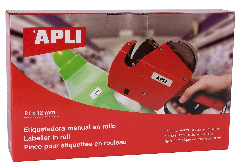 APLI 101419 - Máquina etiquetadora de 2 líneas y 10 caracteres