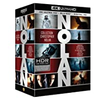 Deals on Coffret Christopher Nolan 7 Films 4K Blu-ray