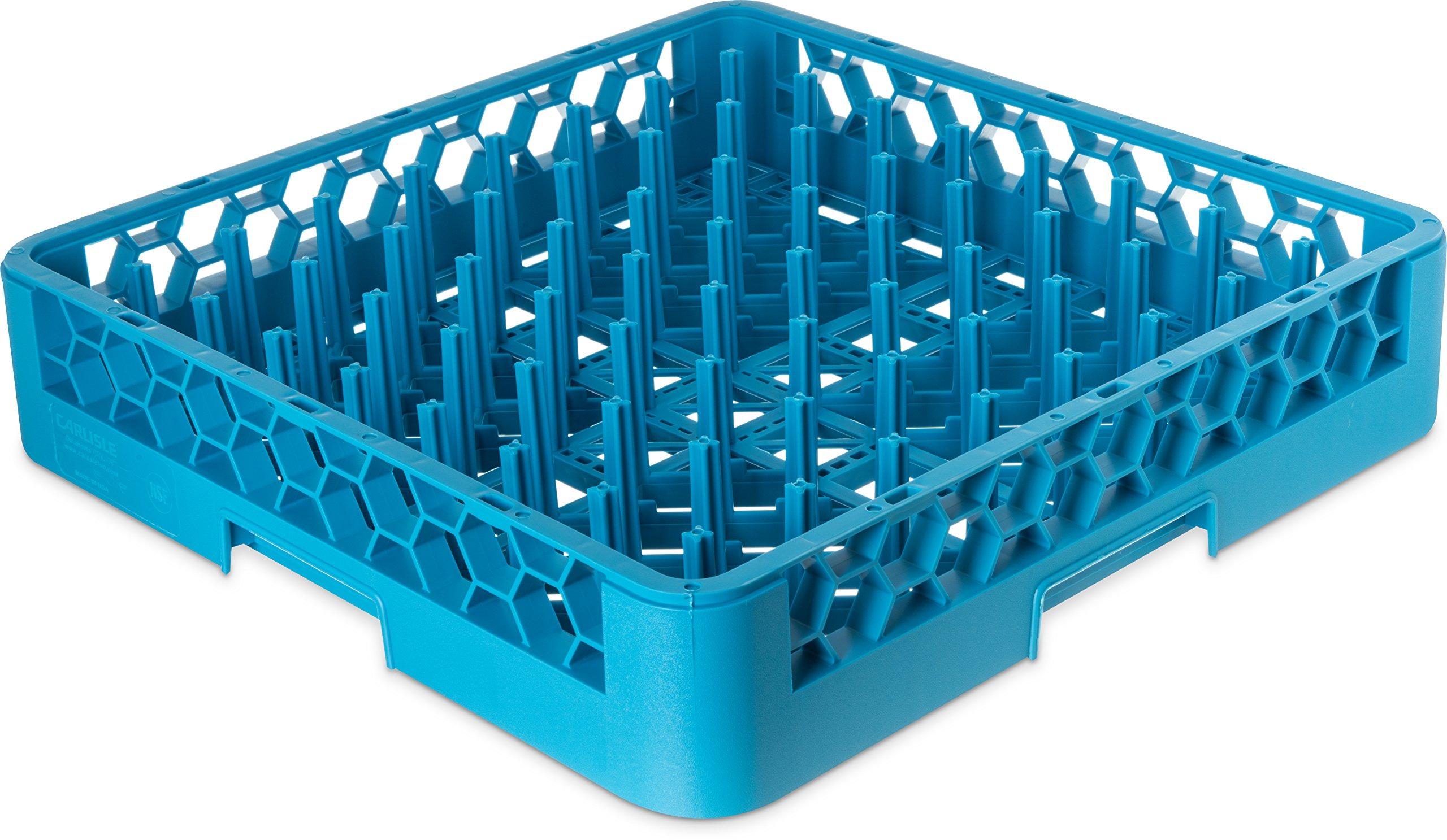 Carlisle RTP14 OptiClean Tall Peg Plate Rack, Blue (Pack of 6) by Carlisle