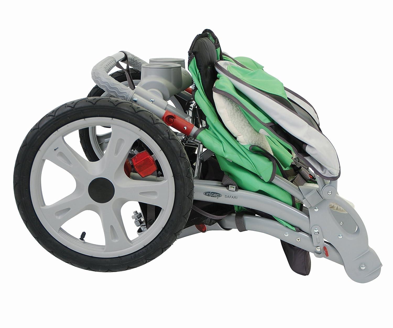 Instep 01157CCWU Grand Safari Double Jogger - Green/Black Dorel Juvenile