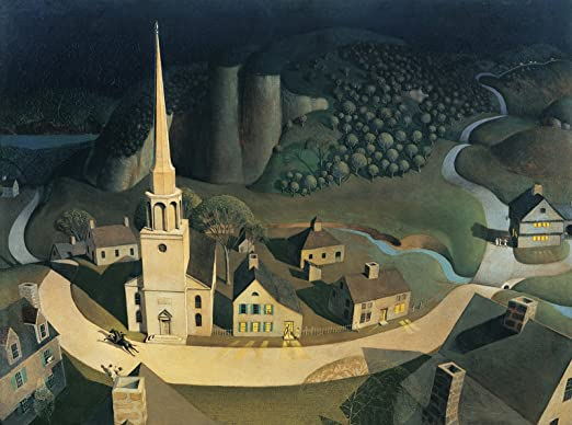 Amazon.com: Grant Wood The Midnight Ride of Paul Revere ...