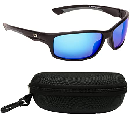 dc4b8738585 Amazon.com  Strike King Plus SG-SKP36-CS Hudson Polarized Sunglasses ...