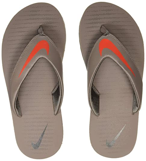 67e8381506f1 Nike Men s Chroma 5 Dark Mushroom Flip Flops Thong Sandals-9 UK India (
