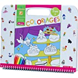 Au SYCOMORE - Cre6021 - Coloriage Gourmandises - 5+ Ans - Multicolore