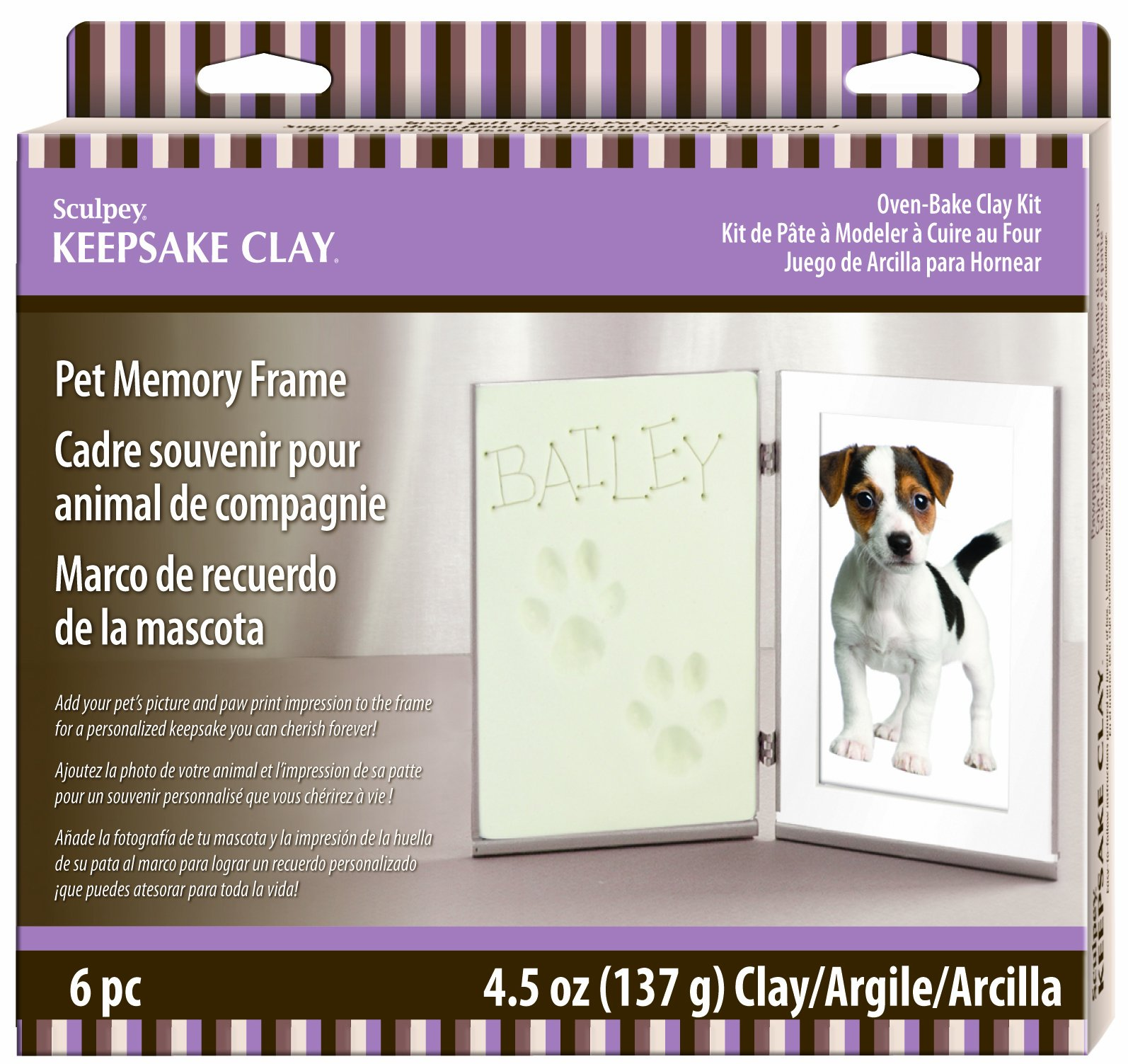 Sculpey Polyform Products Pet Memory Frame Keepsake