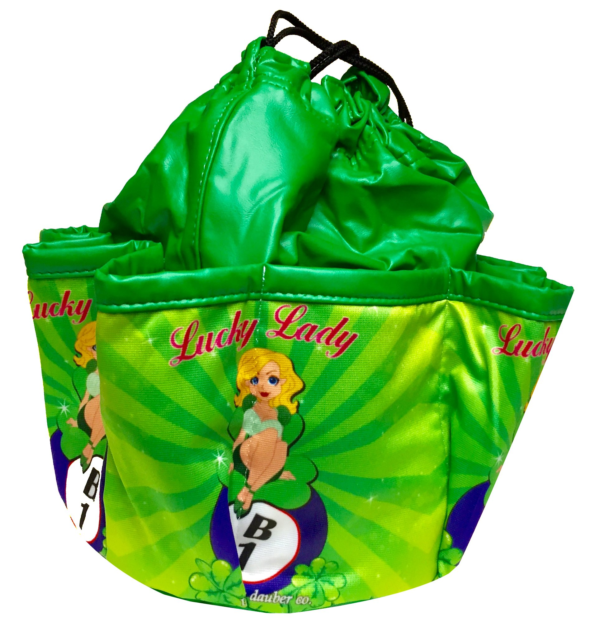 Lucky Lady Green Bingo Bag, ''Lucky Lady - B1''