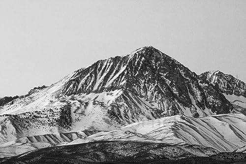 Amazon Com Sierra Nevada Mountains Black And White Photography Handmade
